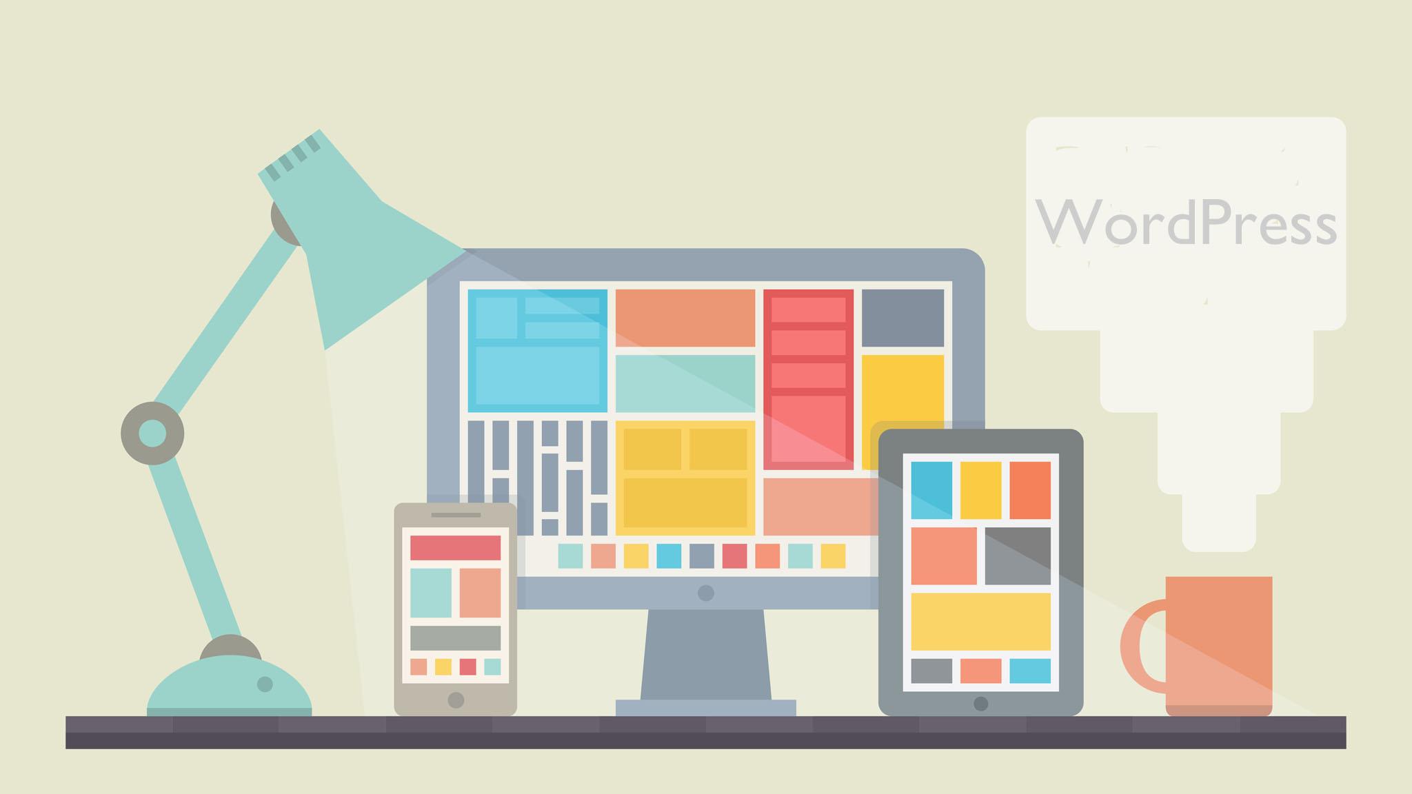 Websites mit WordPress einrichten und aufbauen