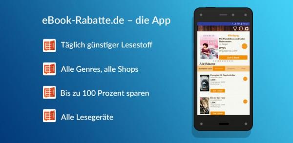 eBook-Rabatte.de: die App